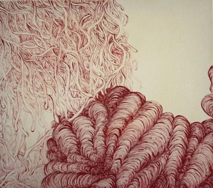 acrylic on canvas (65 x 60), 2021